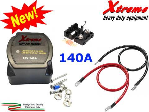 Separatore di carica batteria   Kit completo Victron Cyrix