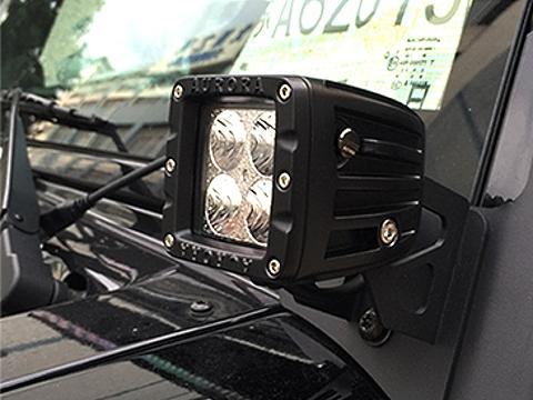 Staffa di montaggio Fari   LED   Jeep Wrangler JK
