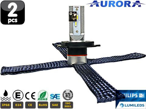 Lampade H4 LED   Aurora G10 Lumiled ZES
