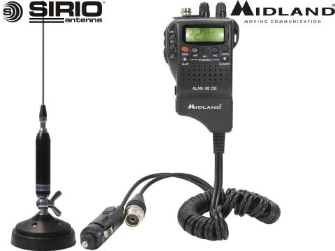 Kit Radio CB    Alan 48   Sirio P2000
