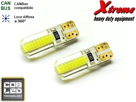 Lampada LED COB   T10    4 Chips