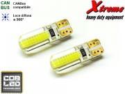 Clicca per ingrandire Lampada LED COB   T10    4 Chips