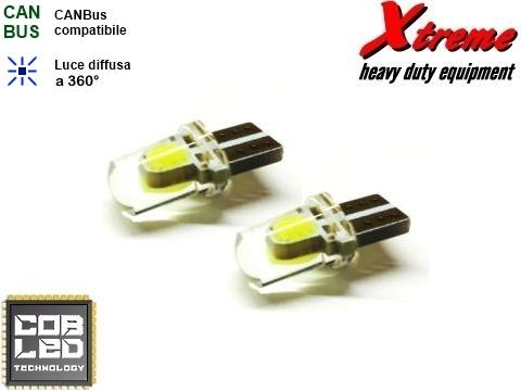 Lampada T10   COB LED  2 Chips