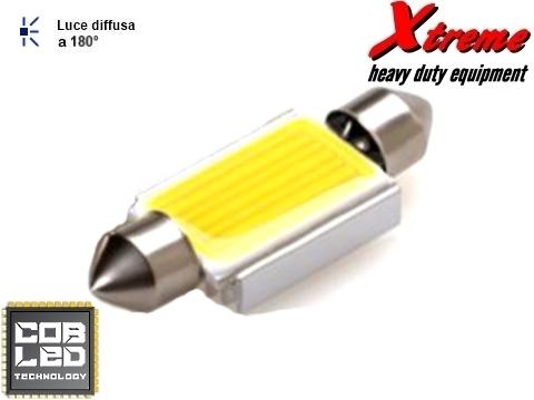 Lampada siluro   COB LED 16x39 mm