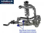 Clicca per ingrandire Toyota Land Cruiser 120   Boccole bracci anteriori inf