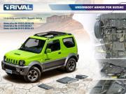 Clicca per ingrandire Suzuki Jimny   A6 Piastra Cambio Riduttore
