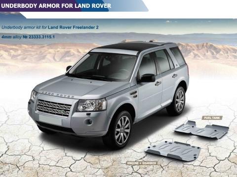 Land Rover Freelander 2   A4 Piastra Motore e Cambio