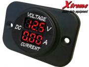 Clicca per ingrandire Modular Socket    Voltmetro   Amperometro