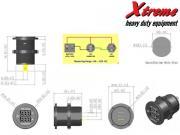 Modular Socket    Voltmetro   Amperometro