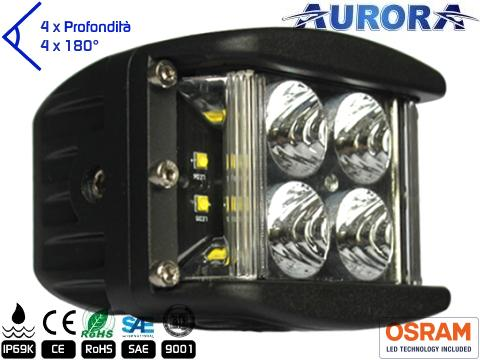 Faro LED 4000 Lumens   Super Wide 180  780 mt
