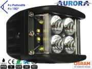 Clicca per ingrandire Faro LED 4000 Lumens   Super Wide 180  600 mt