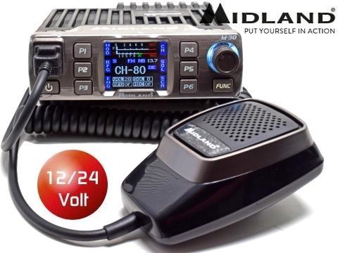 Radio CB ricetrasmittente   Midland M 30 professionale