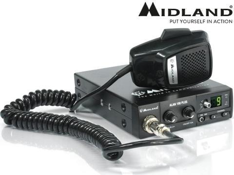 Schemi Elettrici Radio Cb : Radio cb ricetrasmittente midland alan plus b