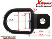 Xtreme Cargo Straps   Anello di ancoraggio   50 pz