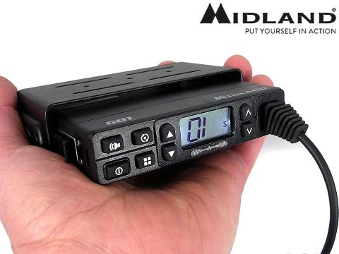 Radio PMR ricetrasmittente   Midland GB1 R