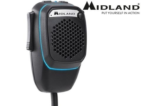 Midland Dual Mike 6 pin   Bluetooth   CB Talk