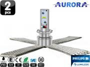 Clicca per ingrandire Lampade H3 LED   Aurora G10 Lumiled ZES