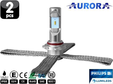 Lampade HB4 9006 LED   Aurora G10 Lumileds ZES