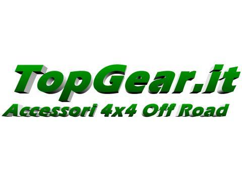 Adesivo TopGear it 3D   su base trasparente