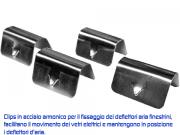 Deflettori aria   Jeep Wrangler JL 5 porte