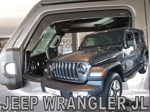 Deflettori aria   Jeep Wrangler JL 3 porte