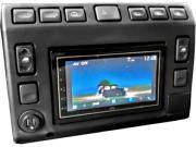 Clicca per ingrandire Consolle centrale 2 DIN  Land Rover Defender Td5