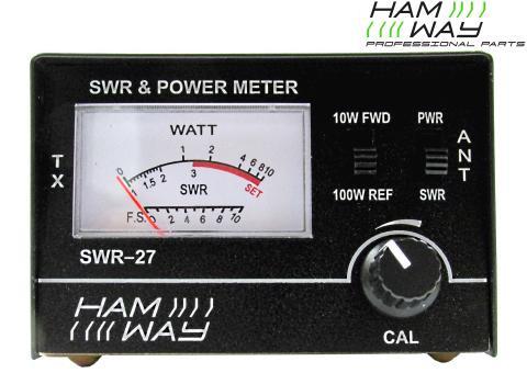 Rosmetro Wattmetro   SWR 27 con cavo PL PL