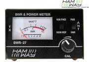 Clicca per ingrandire Rosmetro Wattmetro   SWR 27 con cavo PL PL