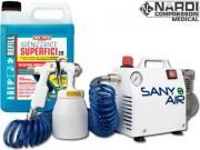 Clicca per ingrandire SANY AIR   Igienizzante   Kit Sanificazione Ambiente