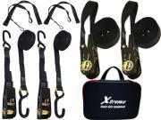 Clicca per ingrandire Xtreme Cargo Straps     Kit 2 fissaggio bagagli