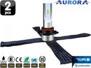 Clicca per ingrandire Lampade HB3 9005 LED   Aurora G10 Lumileds ZES