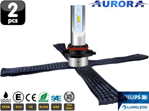 Lampade H16 JP LED   Aurora G10J Lumileds ZES