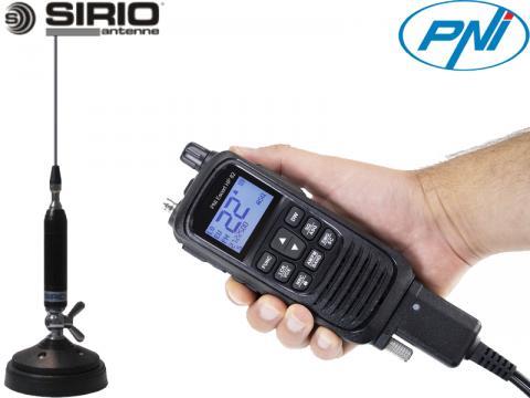Kit 8   Radio CB PNI   Escort HP 62   Antenna Sirio