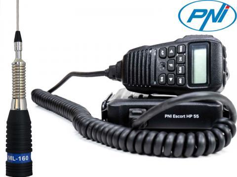 Kit 6   Radio CB PNI   HP 55   Antenna Sirio