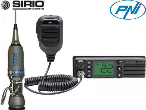 Kit 7   Radio CB PNI   HP 9500   Antenna Sirio