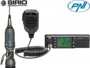 Clicca per ingrandire Kit 7   Radio CB PNI   HP 9500   Antenna Sirio
