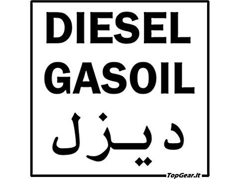 TopGear   Adesivo Gasolio