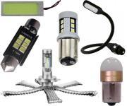 Lampade alogene e LED