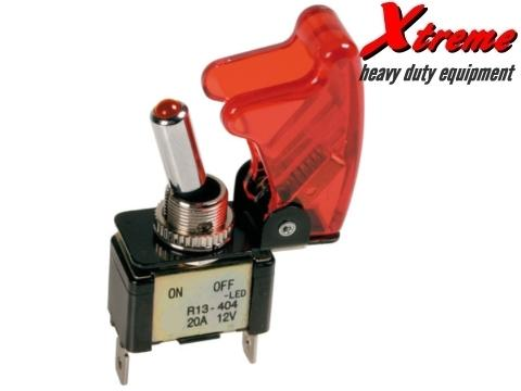Xtreme Switch Serie A   On Off   Rosso