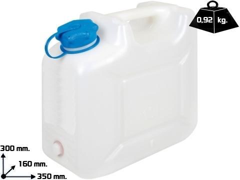 Tanica acqua polietilene   da 10 Lt