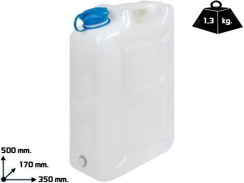 Tanica acqua polietilene   da 20 Lt