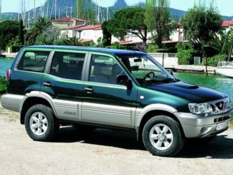 Deflettori aria   Nissan Terrano 5P