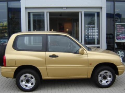 Deflettori aria  Suzuki Grand Vitara 3P
