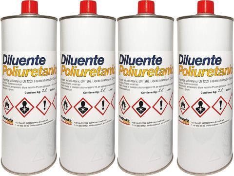 Protectakote   Diluente Poliuretanico 4 L