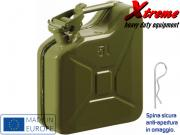 Clicca per ingrandire Tanica carburante in acciaio   da  5 Lt  Militare