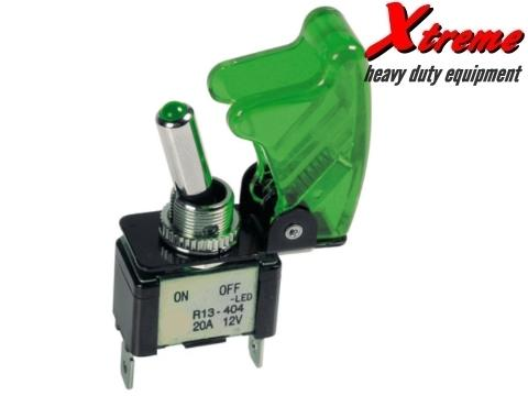 Xtreme Switch Serie A   On Off   Verde