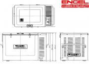 Frigorifero a compressore   Engel MT80F C S