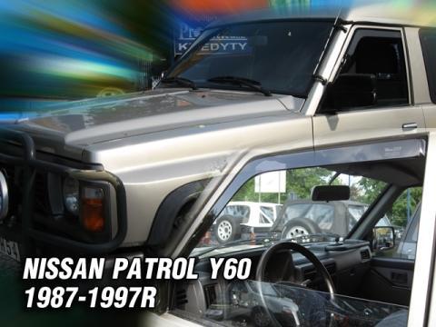 Deflettori aria   Nissan Patrol Y60 5P