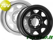 Clicca per ingrandire Nissan Navara D22   Dakar 17x7J ET  20