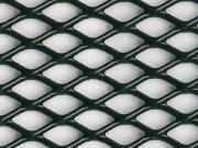 Clicca per ingrandire Lamiera in alluminio   stirata a griglia 250x500